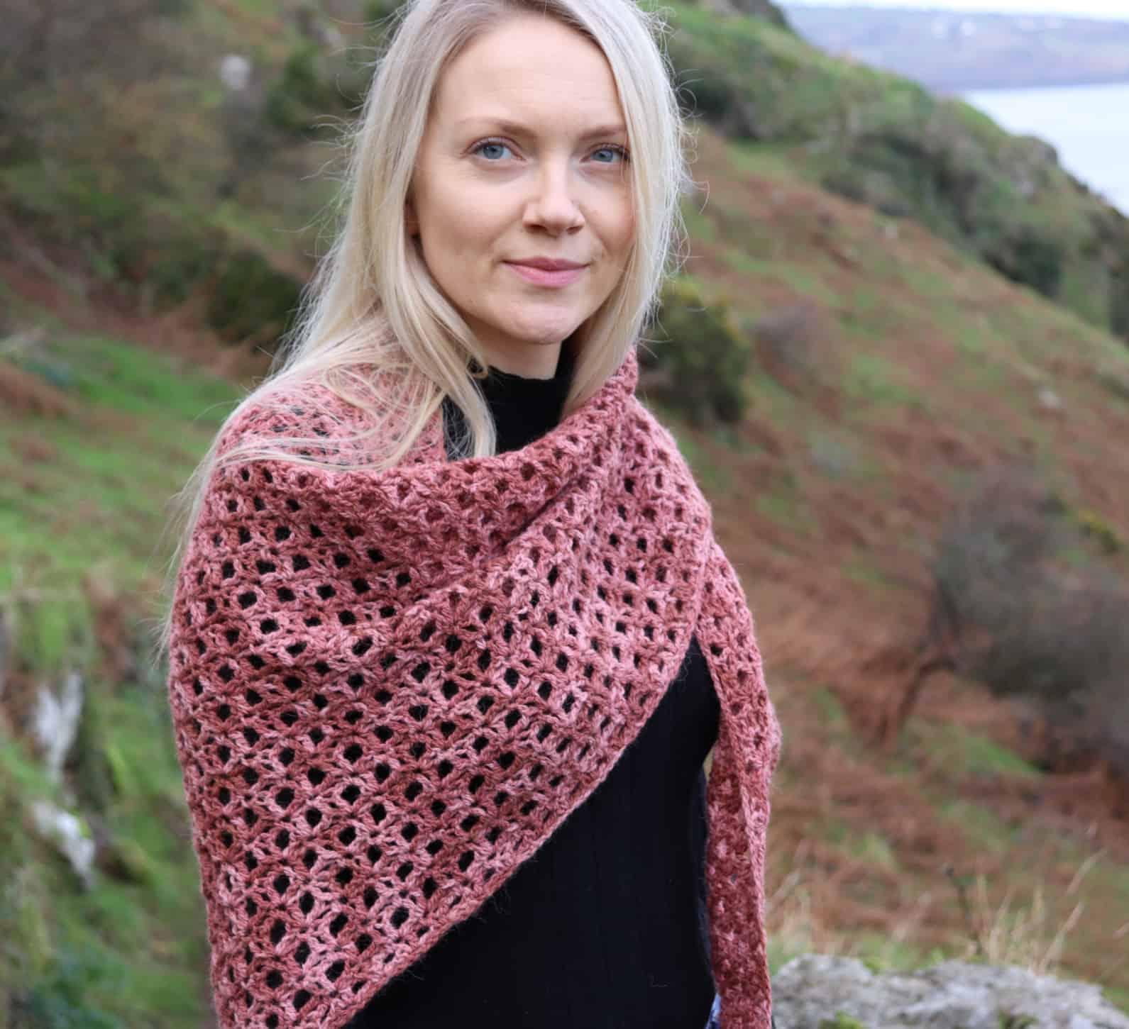 Halo Shawl Free Crochet Shawl Pattern