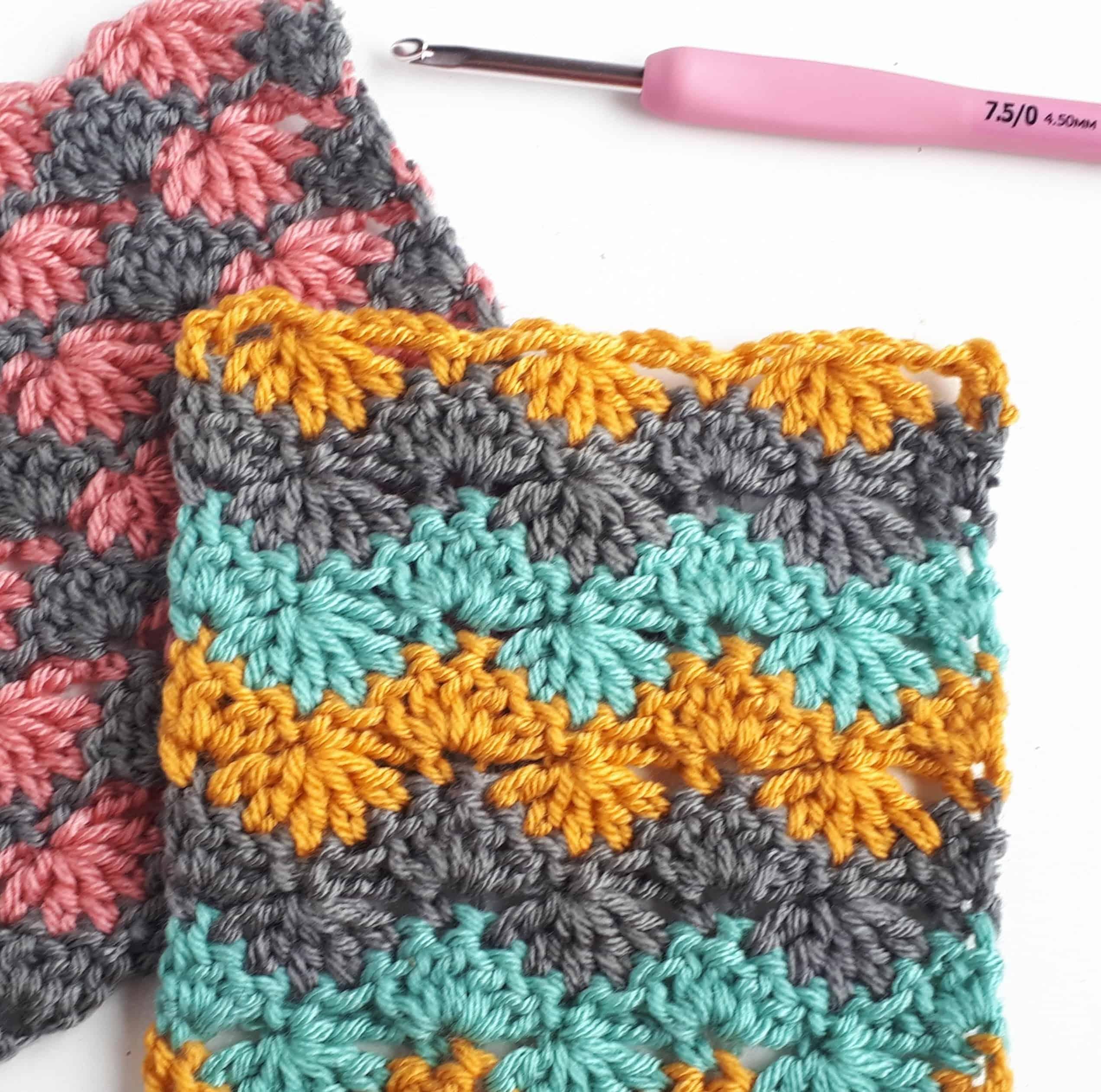 Feather Stitch Tutorial Annie Design Crochet