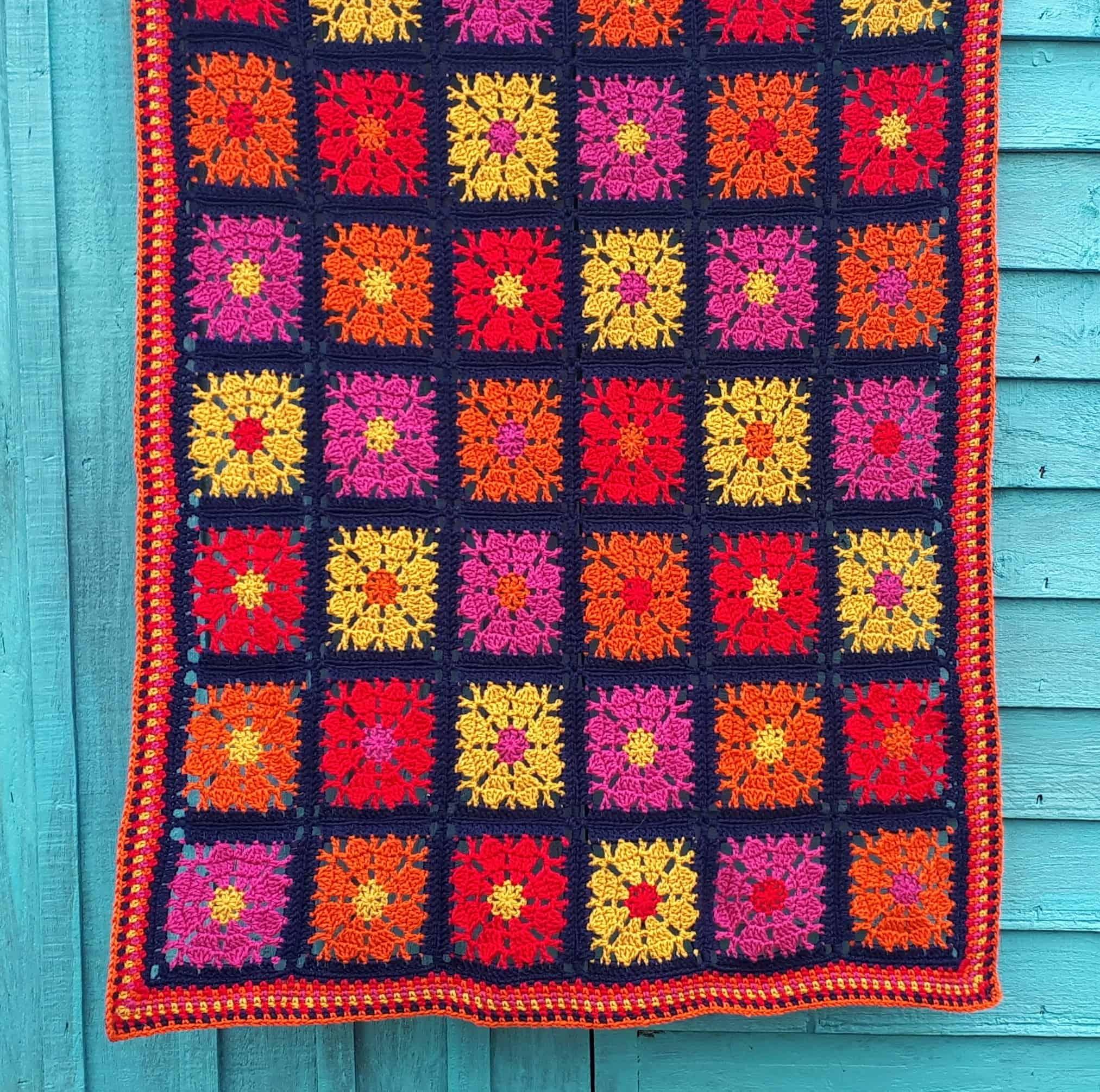 Carousel Blanket Free Crochet Pattern