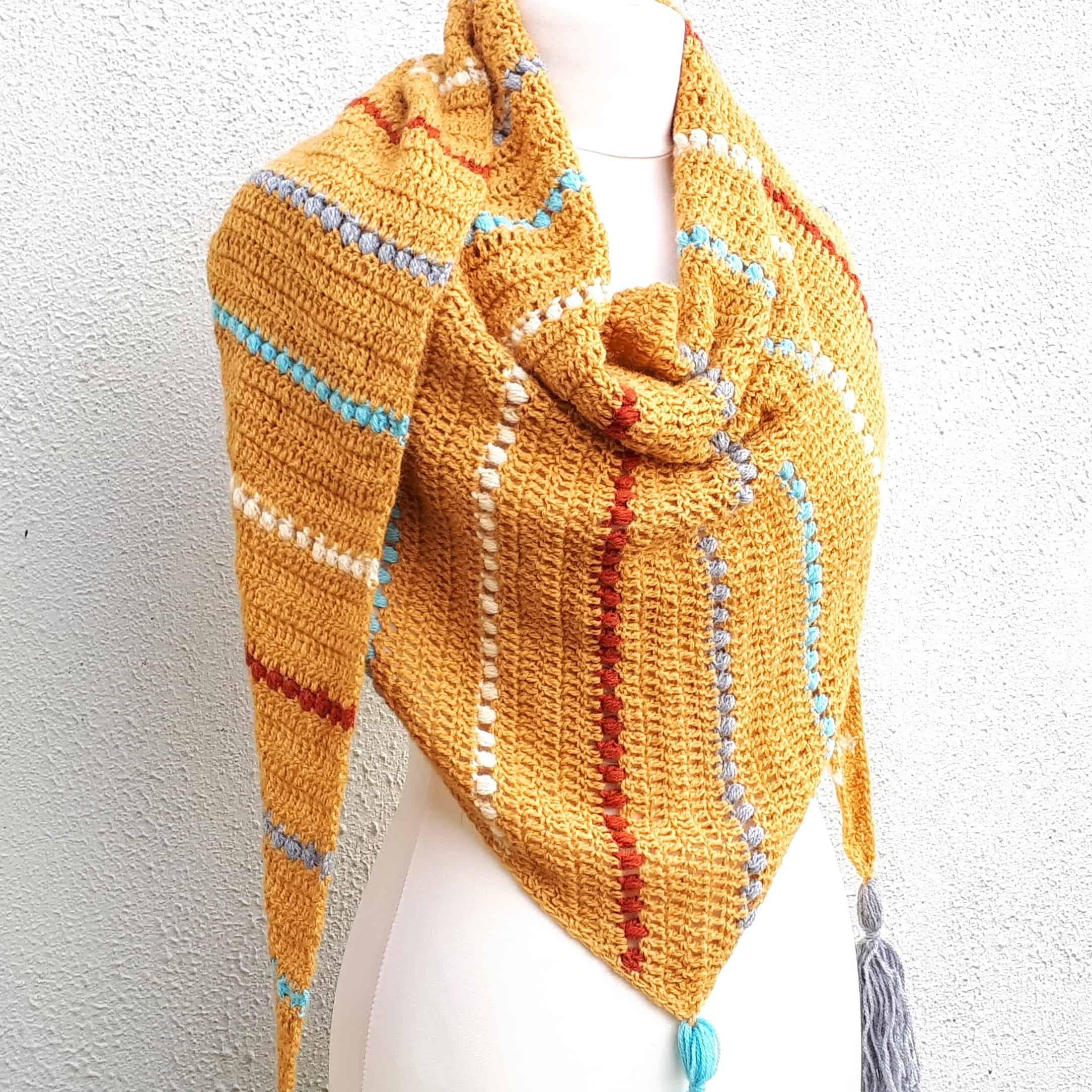 Jewel Wrap Free Crochet Pattern Annie Design Crochet