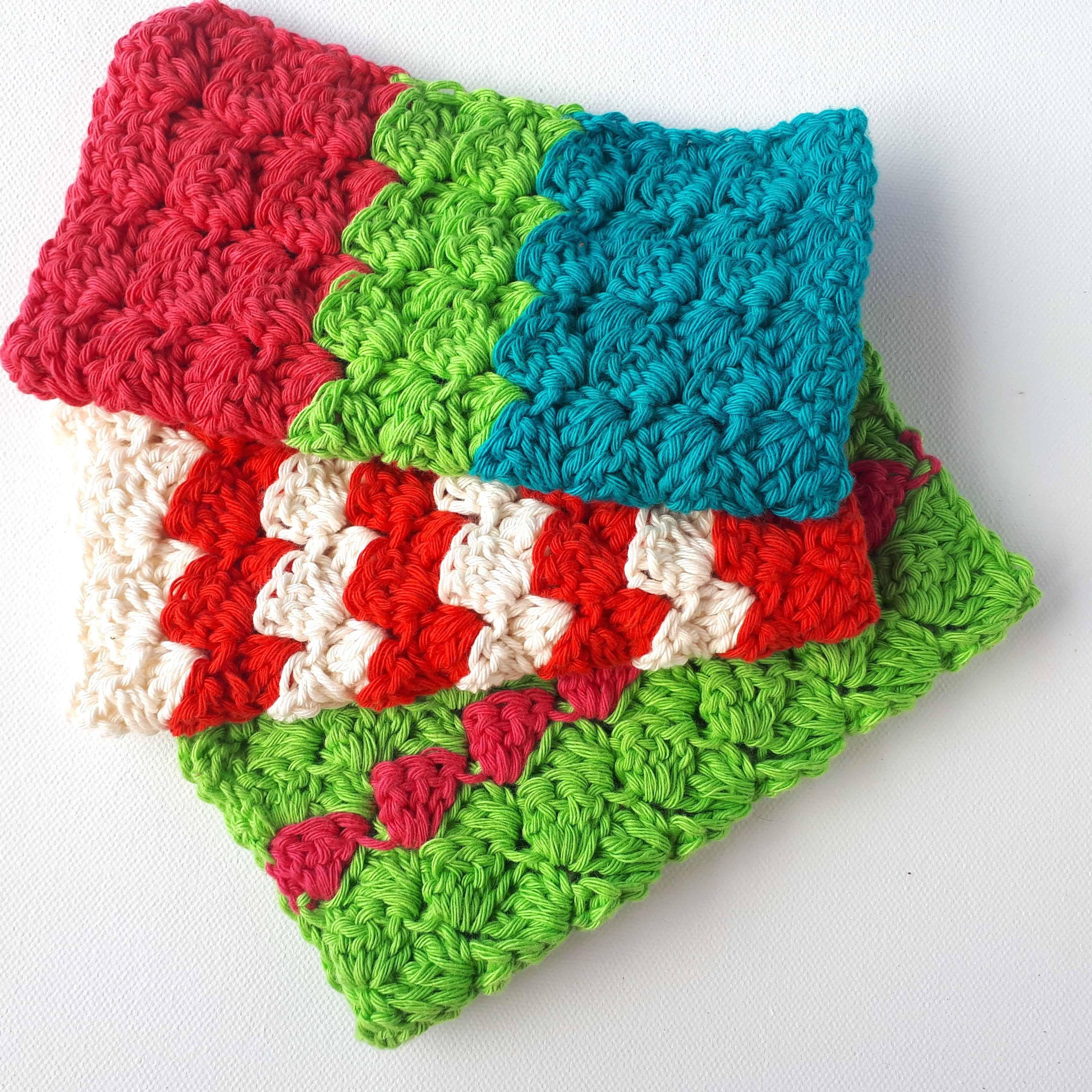 Cheery Crochet Dish Cloths Free Pattern Annie Design Crochet