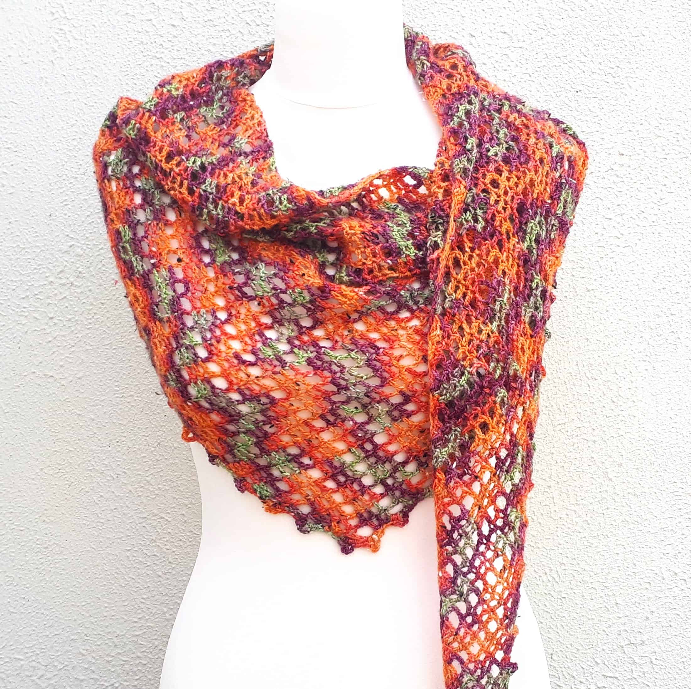 one skein crochet free pattern copper beech