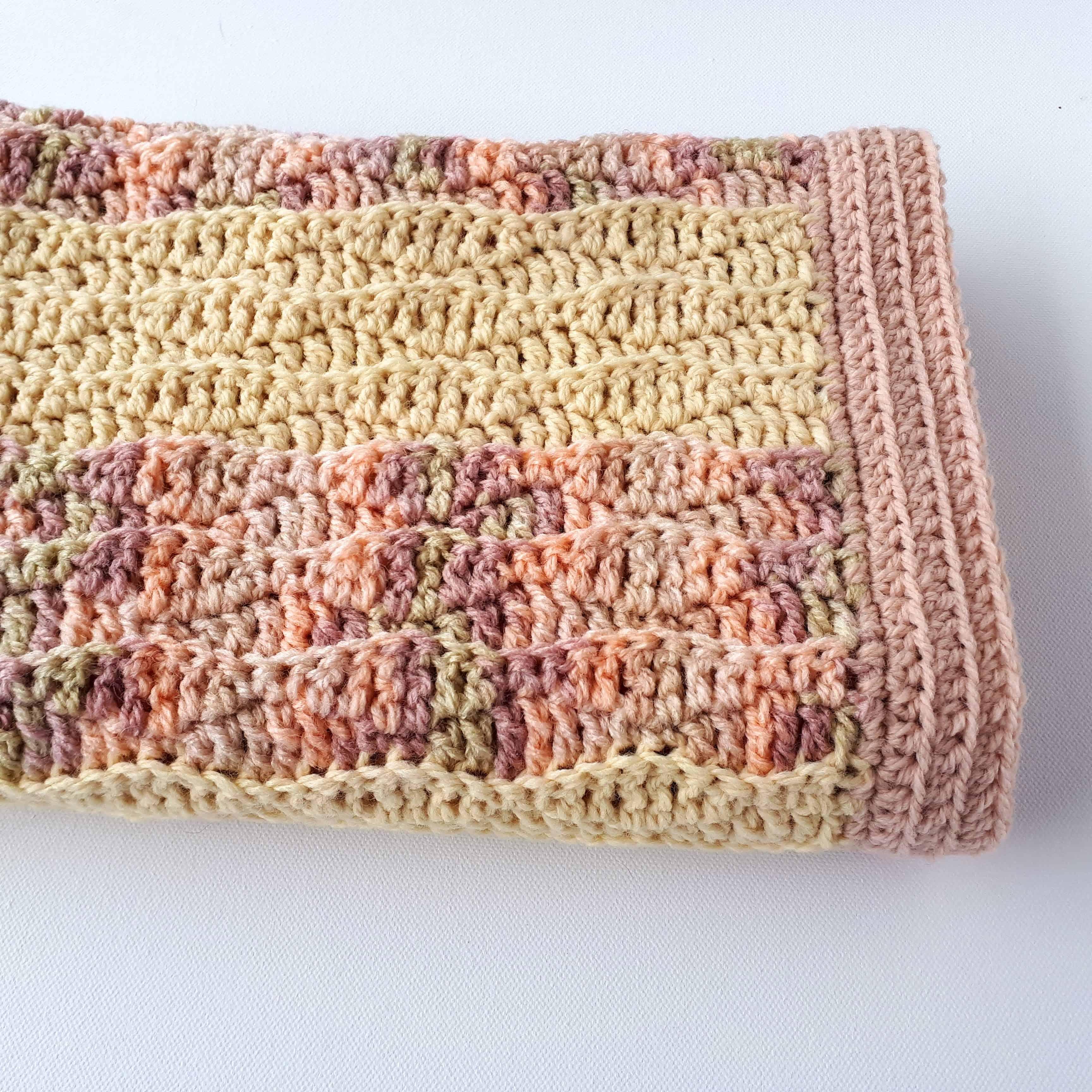 Modern Crochet Baby Blanket Pattern Poppy S Blanket Annie Design Crochet