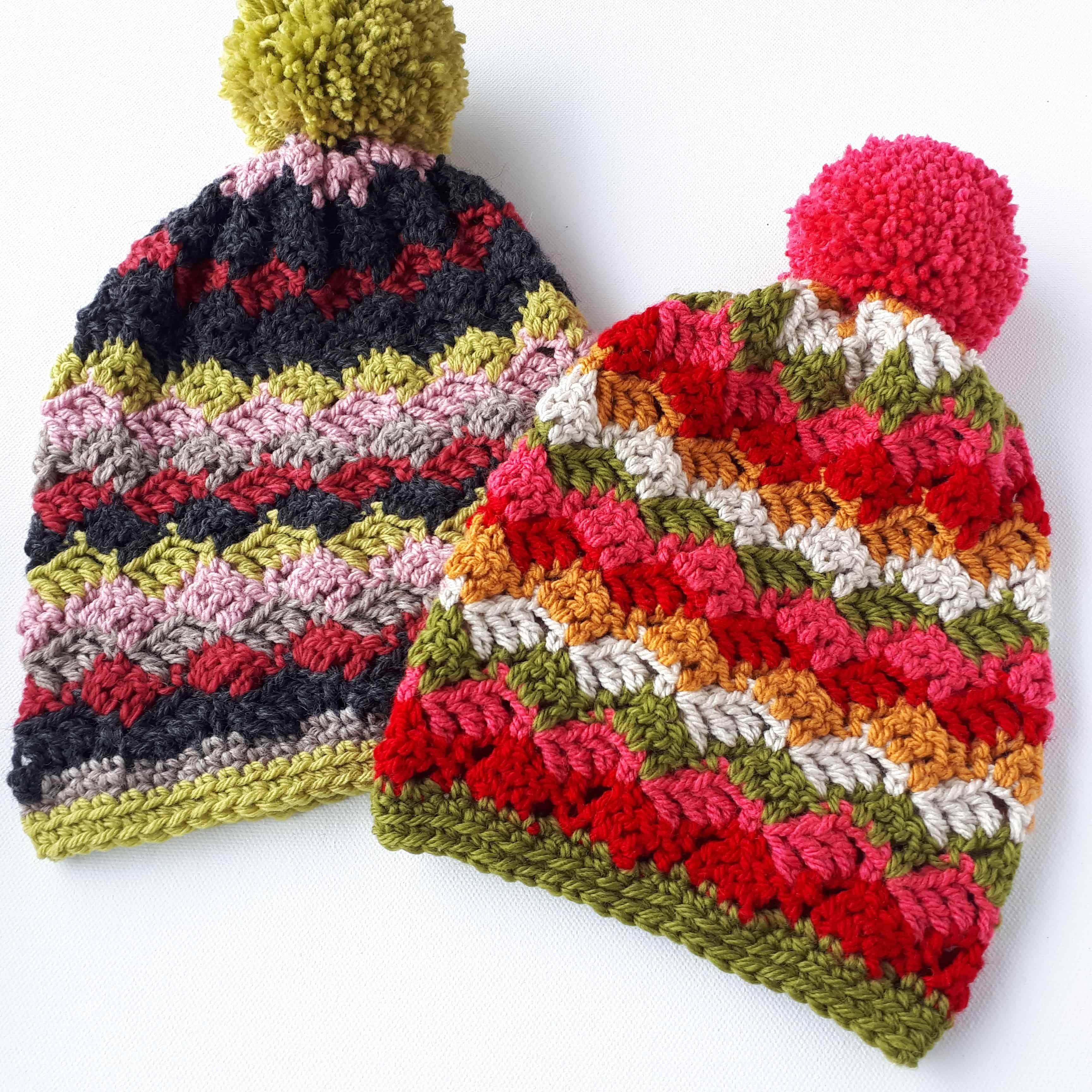 Easy Childrens Hats – Free Crochet Pattern – Annie Design
