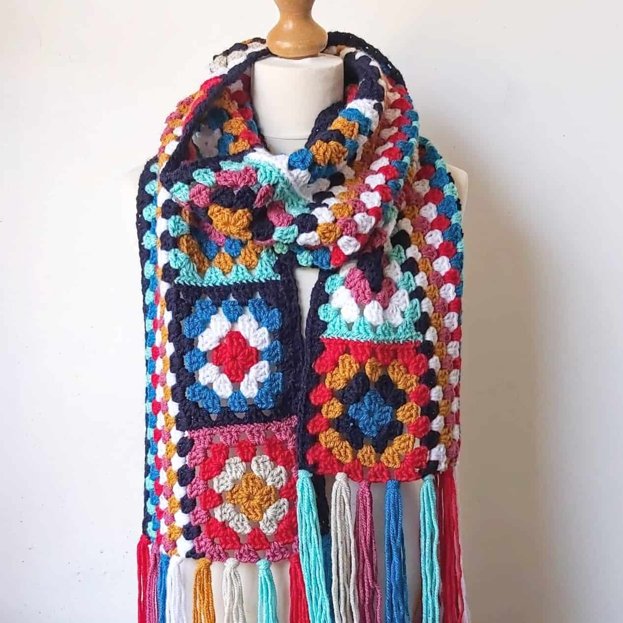 This is a photo of Free Printable Crochet Granny Square Patterns with regard to crochet shirt