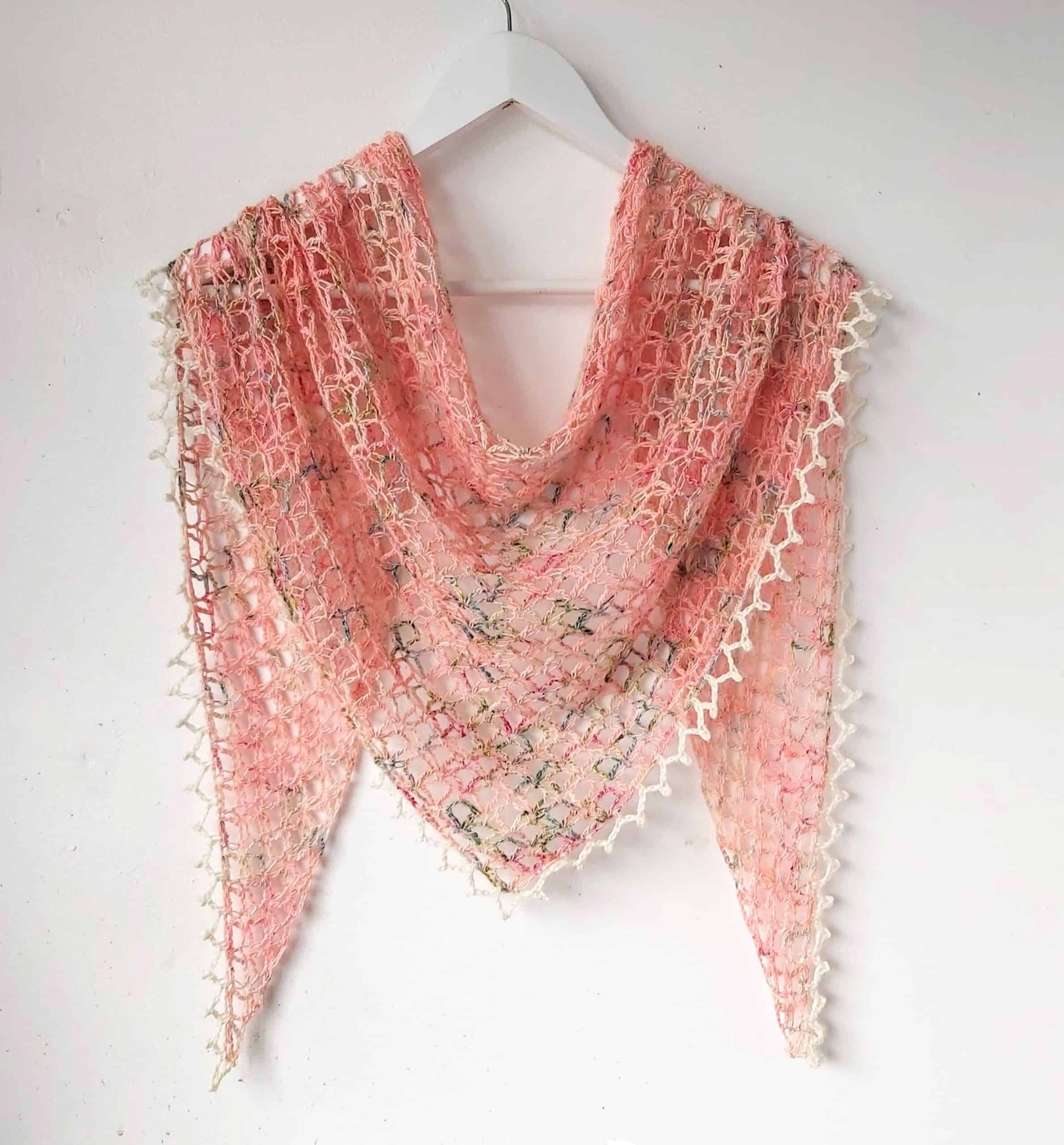 one skein crochet shawl pattern